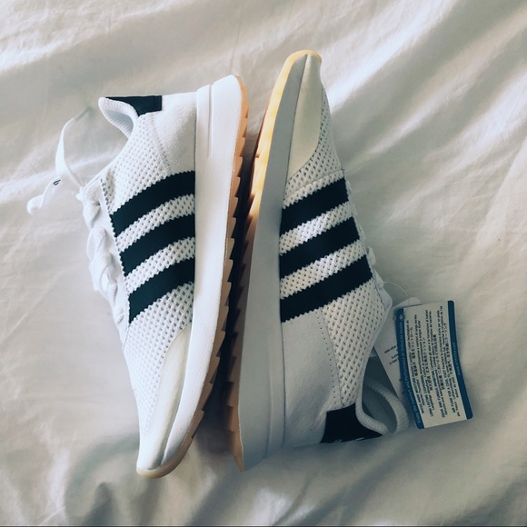 37465596941 Adidas Originals White FLB Sneakers - BRAND NEW!